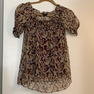 Theory peasant blouse